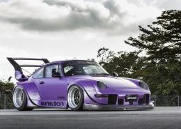 Porsche 993 con Work Meister M1 3P