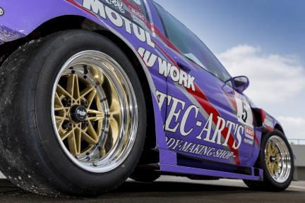 Toyota AE86 con Work Wheels Equip 03