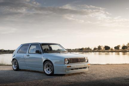 VW MK2 con Work Wheels Equip 40