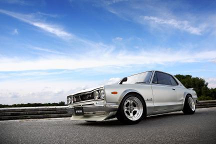 Datsun con Work Wheels Equip 40