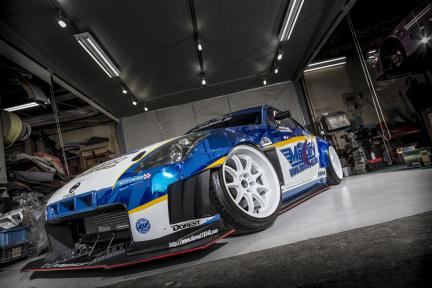Nissan con Work Wheels Emotion D9R