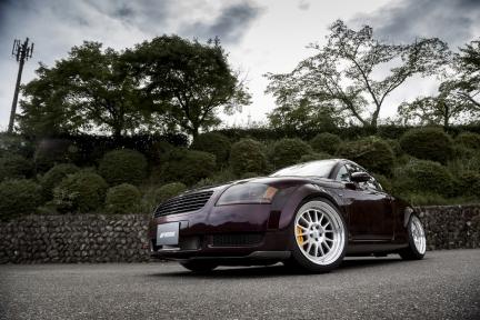 Audi TT con Work Seeker FX