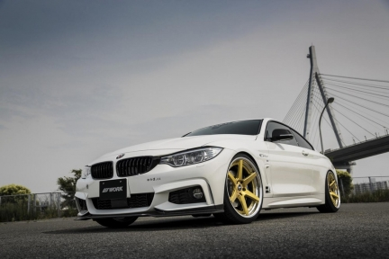 BMW 4 Series 420i con Work Zeast ST1