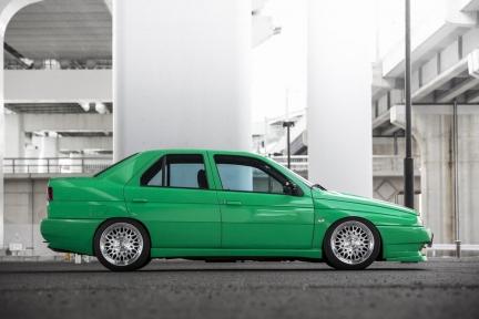 Alfa Romeo Macchina 155 con Work Seeker CX
