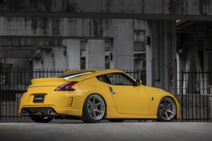 Nissan Fairlady Z on WORK Zeast ST1