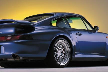 Porsche con Work Wheels Brombacher
