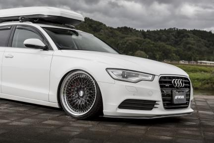 Audi A6 con Work Wheels Gran Seeker CCX