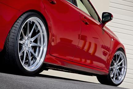 Lexus GS350 con Work Wheels Gnosis CV 201