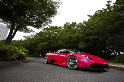 Lamborghini con Work Wheels Equip E05