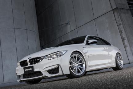 BMW M4 con Work Wheels Gnosis FMB 01