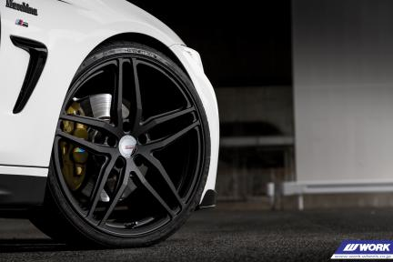 BMW Serie 4 con Work Gnosis FMB 02