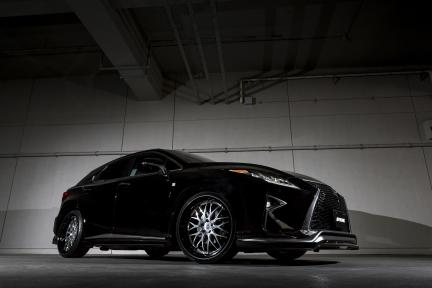 Lexus NX con Work Wheels Gnosis HR 201