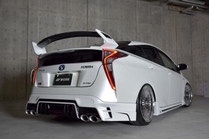 Speziell Toyota Prius con Work Lanvec LF1