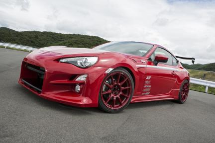 Scion FR-S con Work Wheels MCO TypeCS