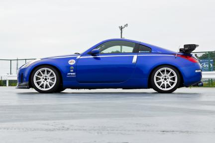 Nissan 350Z con Work Wheels MCO TypeCS