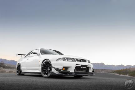 Nissan Skyline GT-R con Work MCO TypeCS