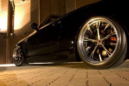Lexus SC 430 con Work Wheels Schwertz SC4