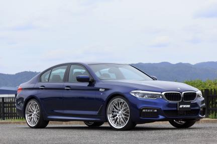 BMW M5 G30 con Work Gnosis GR 204