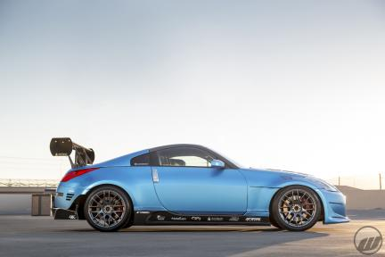 Niko's Nissan Z33 con Work Emotion M8R