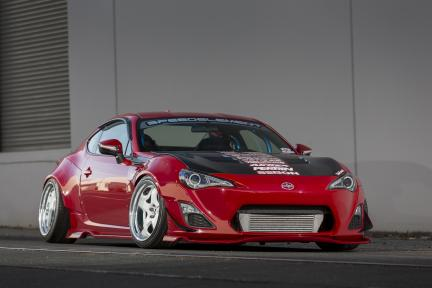 Scion FR-S con Work Wheels Meister S1R