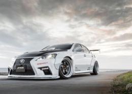 Lexus con Work Wheels Meister S1 3P