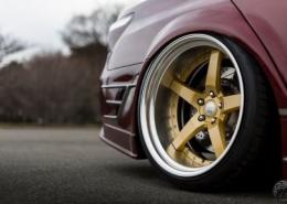 Lexus con Work Wheels Gnosis GR 203