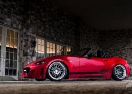 Mazda con Work Wheels XSA 05C