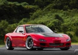 Mazda con Work Wheels Meister S1 2P