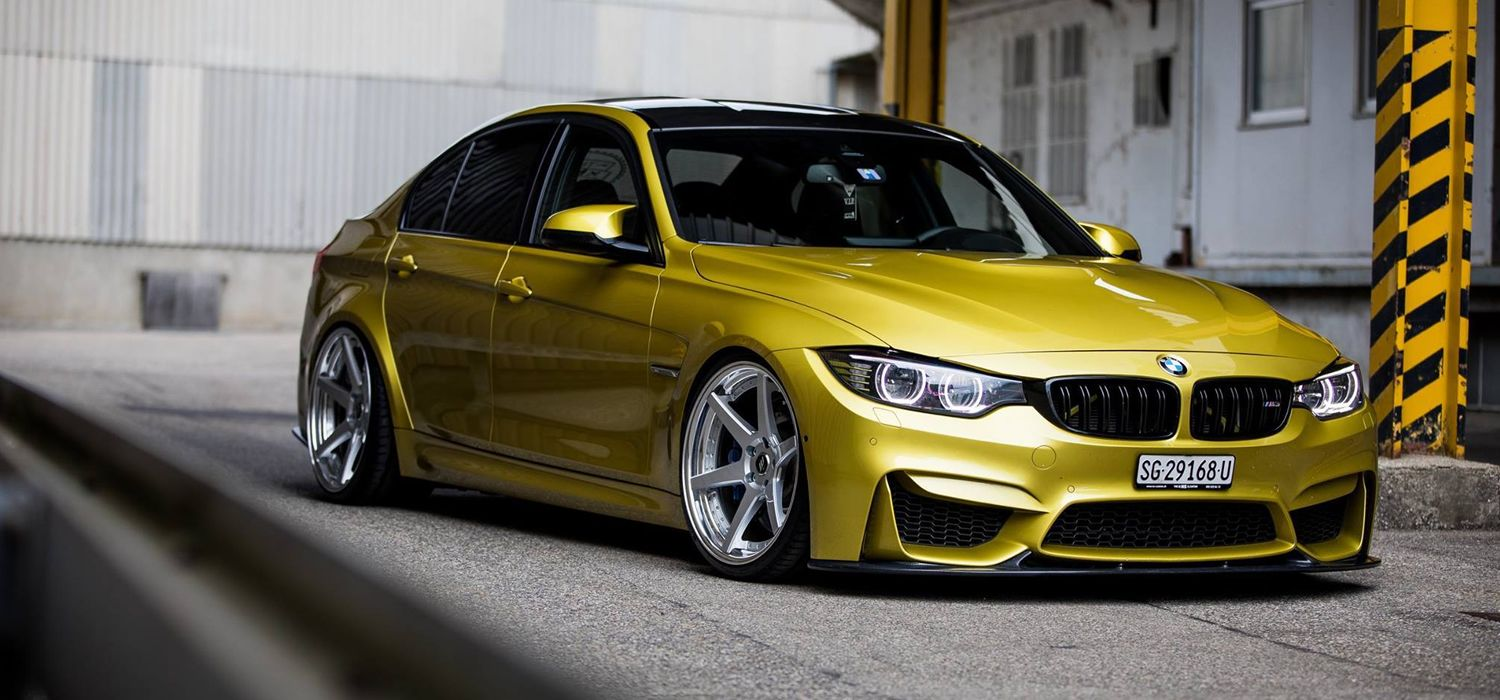 BMW con Work Wheels ZEAST ST1