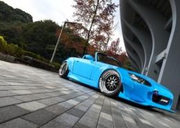 Honda con Work Wheels Meister M1 3P