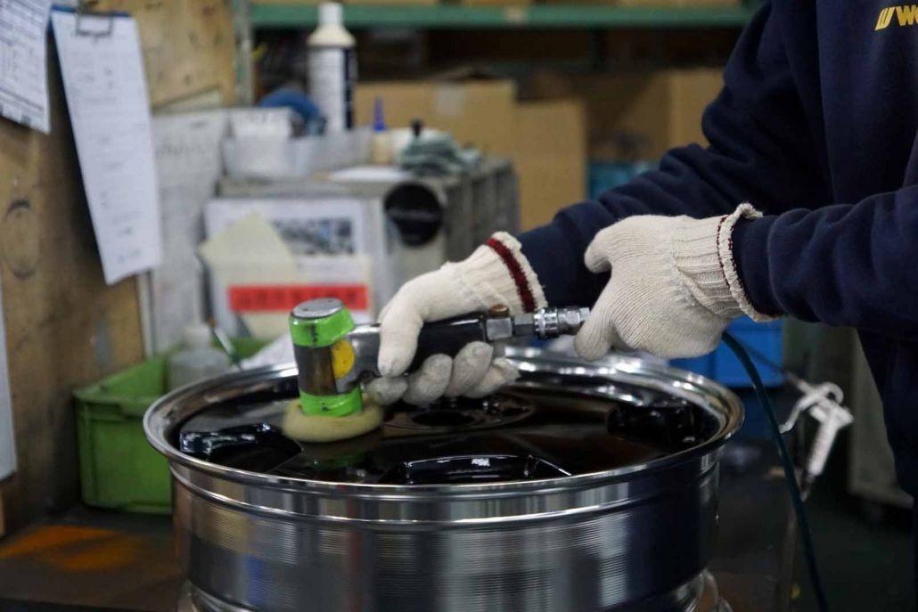 Producción de rines Work Wheels Japan