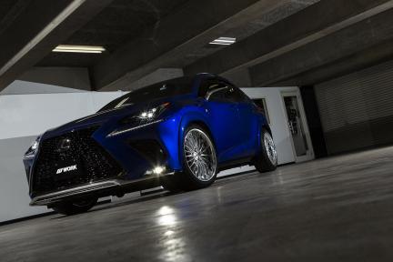 Lexus con Work Wheels Schwertz Regnitz