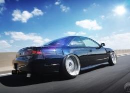 Nissan con Work Wheels VS XX