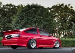 Toyota con Work Wheels Equip 40